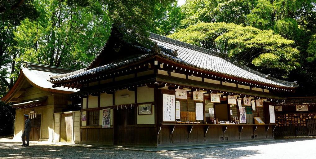 熱田神宮の「お守り・お札等、返納方法」