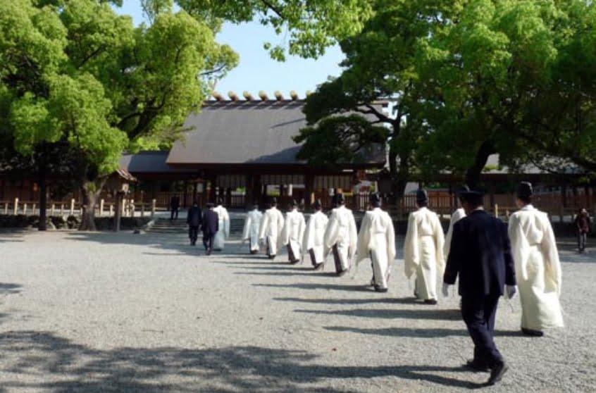 熱田神宮の神職