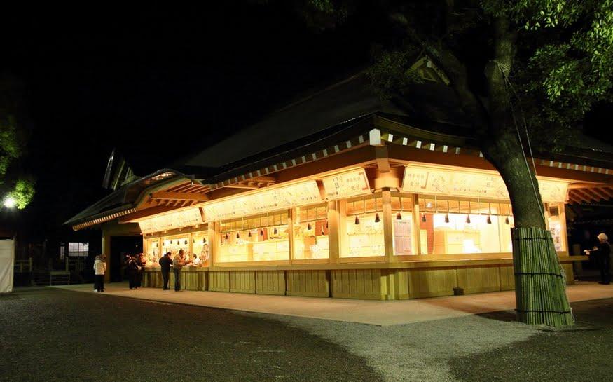 熱田神宮・夜・日暮れ・営業時間