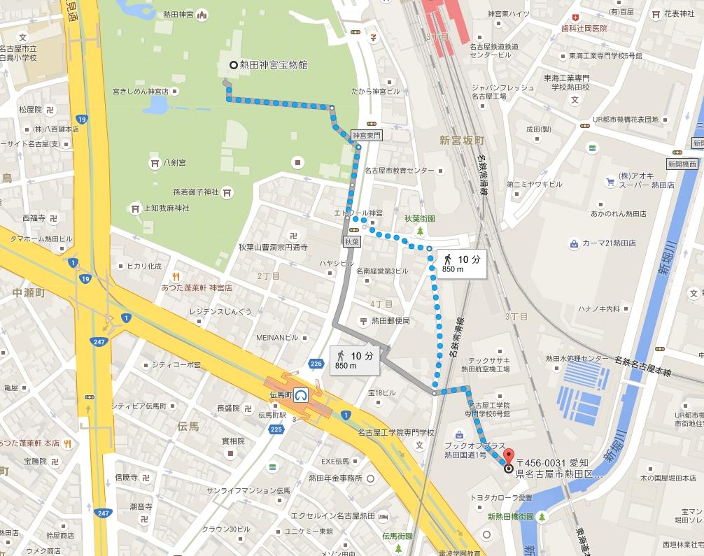 名古屋熱田観光バス駐車場
