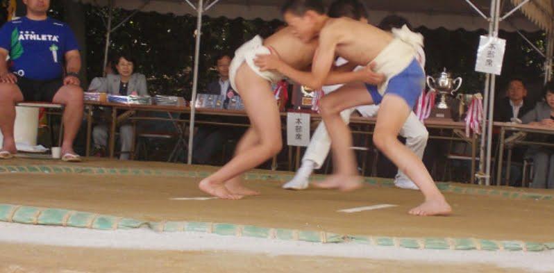 熱田神宮・子ども相撲場