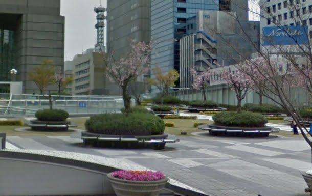 オアシス21緑の広場